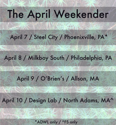 ADWL FS April weekender